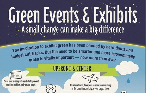 Green Events & Exhibits: A Small Change Can Make A Big Difference | Event Management | Scoop.it
