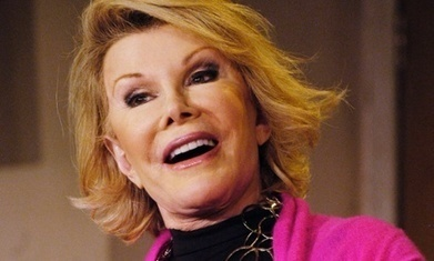 Joan Rivers posts from the grave: 'I've just bought an iPhone!'   Psychology of Consumer Behaviour   Scoop.it