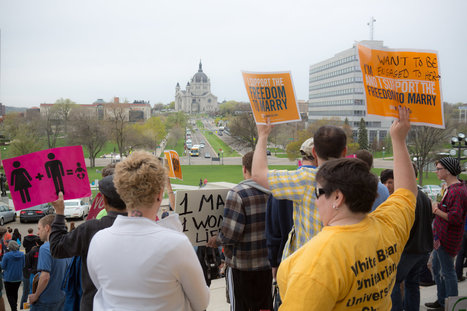 Minnesota Senate Clears Way for Same-Sex Marriage | Shelby's Gov&Law | Scoop.it