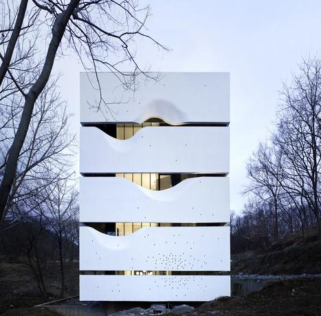 Architecture originale pour cette maison blockhaus à 4 étages au coeur d'une forêt chinoise | Immobilier International | Scoop.it