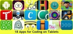 Education Apps – Apps for Coding on Tablets | UKEdChat.com - Supporting the #UKEdChat Education Community | Android Apps in Education | Scoop.it