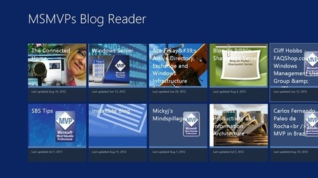 MSMVPs Blog Reader app for Windows 8 | MVP | Scoop.it