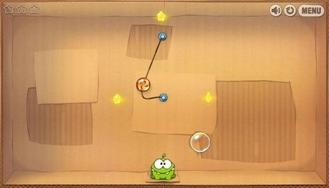 Cut the Rope comes to your web browser | Online Web Games | Scoop.it