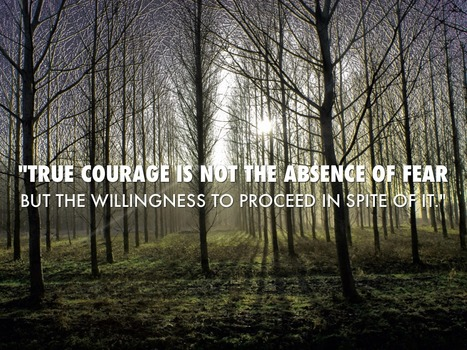 Be BRAVE and COURAGEOUS whatever the situation is...   Learning, Learning Technologies & Infographics - Interest Piques   Scoop.it