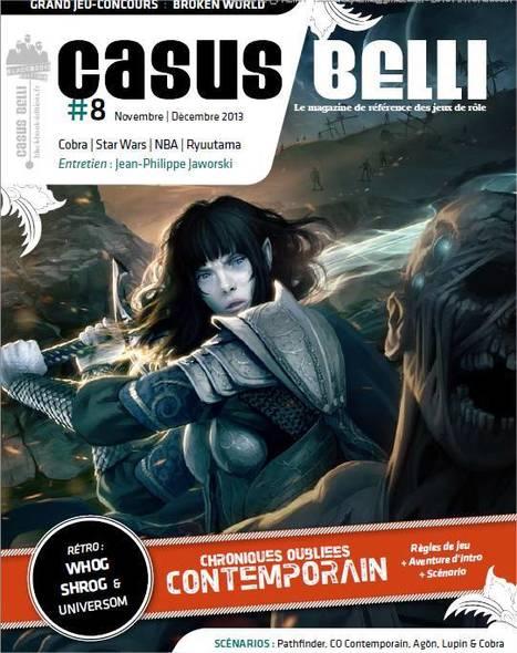 Casus Belli numero 8 est arrivé, en pdf pour le moment | Jeux de Rôle | Scoop.it