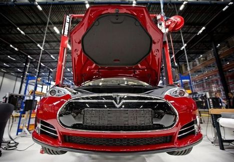Tesla,  l'auto verte prend des watts | Electric Vehicles | Scoop.it