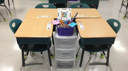 Seating Arrangements with Work Stations - easy quick tip - collaboration | EDCI 397 | Scoop.it