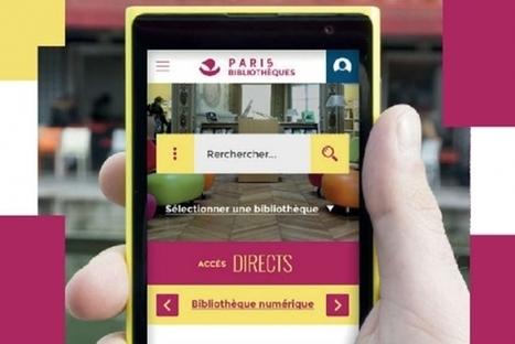 Un nouveau portail pour les bibliothèques municipales de Paris | Clic France | Scoop.it