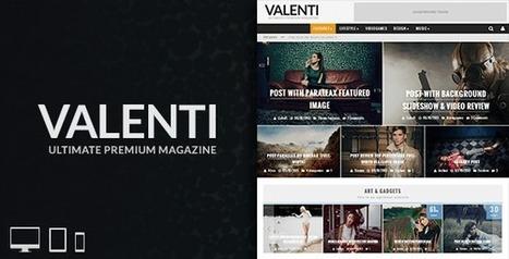 Valenti – WordPress HD Review Magazine News Theme Download | Best Wordpress Themes | Scoop.it