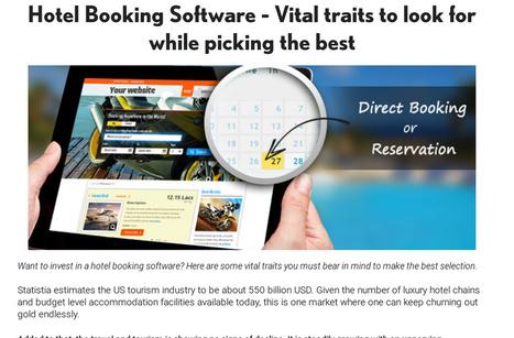 Hotel booking software | johnabraham | Scoop.it