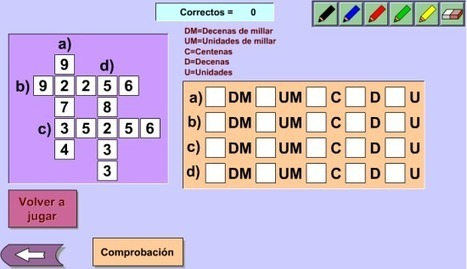 Crucigrama de numeración decimal | Revista GenMagic | Scoop.it