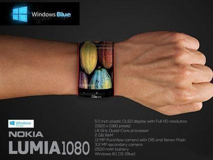 Nokia Lumia 1080, et si c'était une montre ? - Tom's Guide | Smartphone Nokia Lumia | Scoop.it