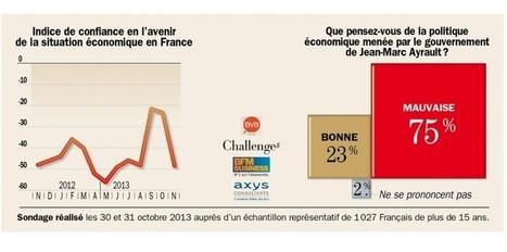 Sondage: combien de Français approuvent la politique économique ... - Challenges.fr | L'état et l'individu | Scoop.it