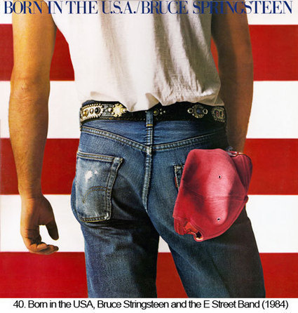 Born in the USA – Bruce Springsteen   Album covers   Scoop.it