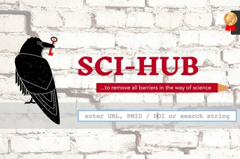 Problemática en torno a SciHub, la web de descarga gratuita de artículos científicos | El rincón de mferna | Scoop.it