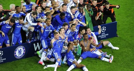 CHELSEA HANDED EUROPEAN CLUB ACCOLADE | News Article | Chelsea FC | Soccer | Scoop.it