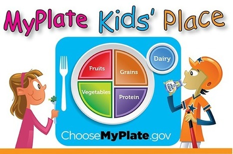 MyPlate Kids' Place | Nutrition & Fitness | Scoop.it