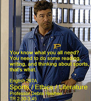English Course Uses Literature to Discuss Sports and Ethics - LAUS @ PSU | Sports Ethics: Travick M. | Scoop.it