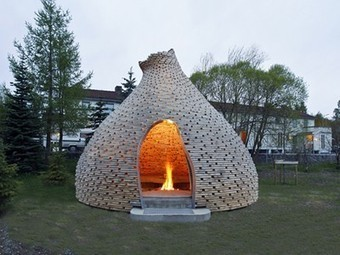 Gorgeous Norwegian Outdoor Fireplace Combines Reuse with Local Traditions | Vertical Farm - Food Factory | Scoop.it