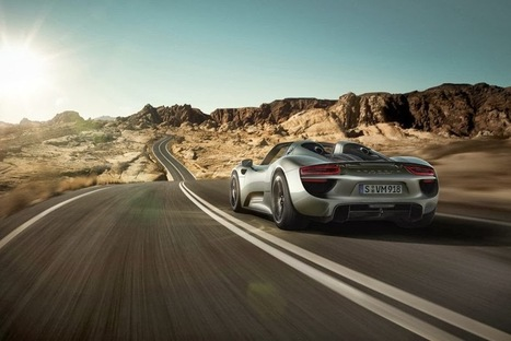 2014 Porsche 918 Spyder Unveiled - Grease n Gasoline   Business Initiatives   Scoop.it