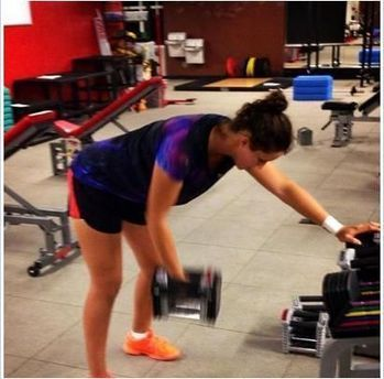 Laura Robson At Gym | Pictures of Laura Robson | Scoop.it