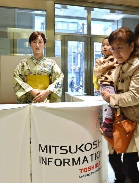 ChihiraAico, la robote hôtesse d'accueil va vous chanter une chanson | Technoculture | Scoop.it