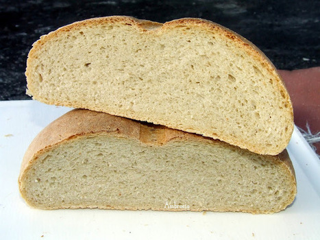 AMBROSIA: Rustic Bread (Vegan) | Vegan Food | Scoop.it