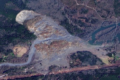 This satellite photo of the Washington mudslide shows the full extent of its damage   TIME   Sustain Our Earth   Scoop.it