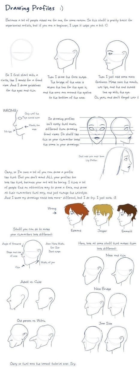 How to Draw Profiles | startcrea. Recursos para el aula de Plástica | Scoop.it