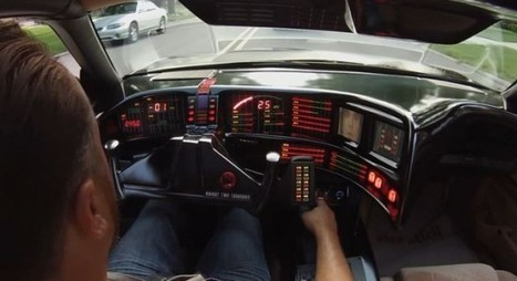Knight Rider Fan Spends Three Years Building Perfect Replica of KITT | Strange days indeed... | Scoop.it