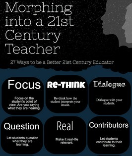 Morphing into a 21st Century Teacher (updated) | Professional Development CHS | Scoop.it