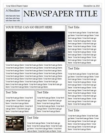 Awesome Free Templates to Create Classroom Newspapers ~ Teachers Tech Workshop | Innovación,Tecnología y Redes sociales | Scoop.it