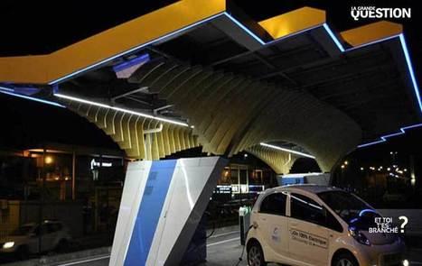 UP Magazine - La première route de mobilité solaire intelligente sous Parasols | 2025, 2030, 2050 | Scoop.it
