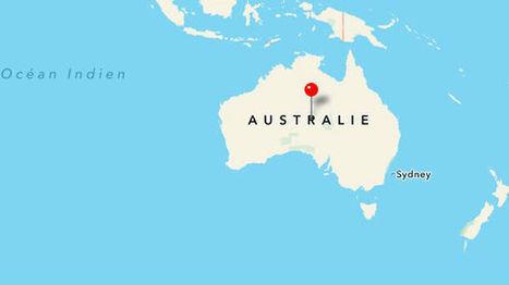 L'Australie n'est plus à sa place sur la carte du monde | Think outside the Box | Scoop.it