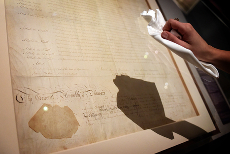 British Library displays the Declaration of Independence and the US Bill of Rights in the UK for the first time | Art Daily | Kiosque du monde : A la une | Scoop.it