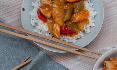 A recipe for soya-free, gluten-free sweet and sour chicken with rice - The Guardian   Gluten Sensitive   Scoop.it