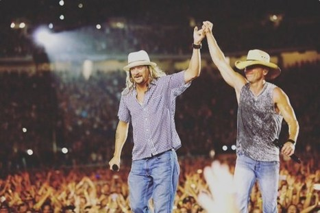 Kid Rock Surprises Kenny Chesney Audience in Detroit [Watch] | Country Music Today | Scoop.it