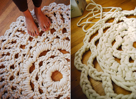 Ladies and Gentlemen, a Charismatic Mega Doily | The Coveted® | Stunning Crafts You Can Do With Yarns | Scoop.it