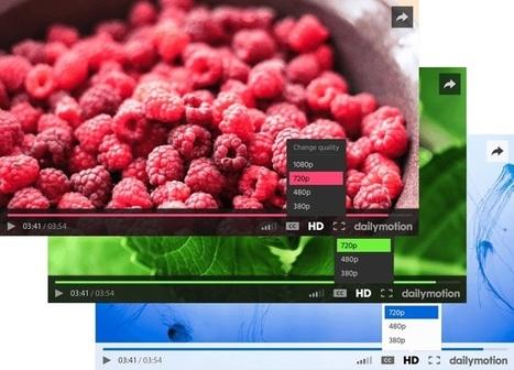 Dailymotion s'offre un lecteur vidéo flambant neuf | Geeks | Scoop.it