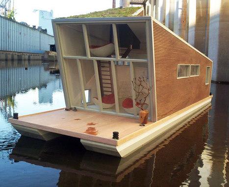 La houseboat eco-sostenibile | Il mondo che vorrei | Scoop.it