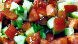 Simple Tomato, Cucumber and Vidalia Onion Salad | Annie Haven | Haven Brand | Scoop.it