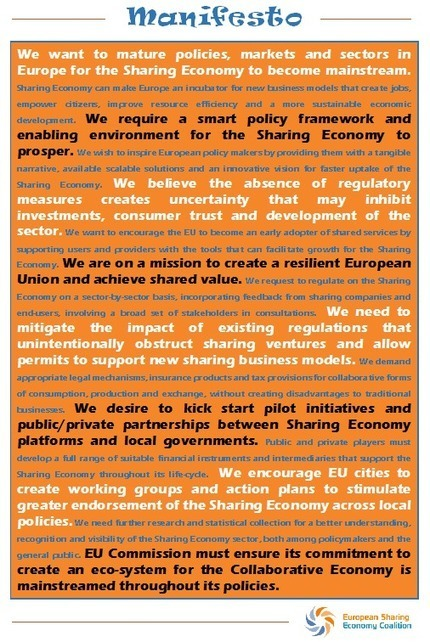 Collaborative Economy in Belgium Needs a Regulatory Boost - Crowdsourcing Week   Collaborative Innovation and the Sharing Economy   Scoop.it