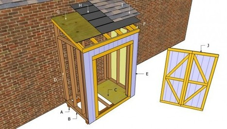 Free Lean To Shed Plans | Free Outdoor Plans - DIY Shed, Wooden Playhouse, Bbq, Woodworking Projects | lean to shed | Scoop.it