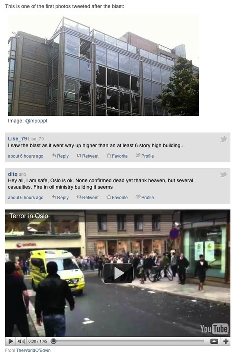 Curated Social Media Comes Of Age During Oslo Attacks | Fast Company | Sosial på norsk | Scoop.it