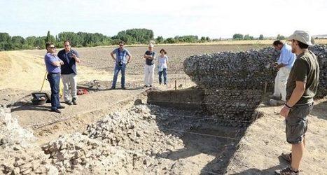 El yacimiento de Confluenta en Duratón (Segovia) muestra el que podría ser el edificio relacionado con la industria de la lana más antiguo de España | LVDVS CHIRONIS 3.0 | Scoop.it