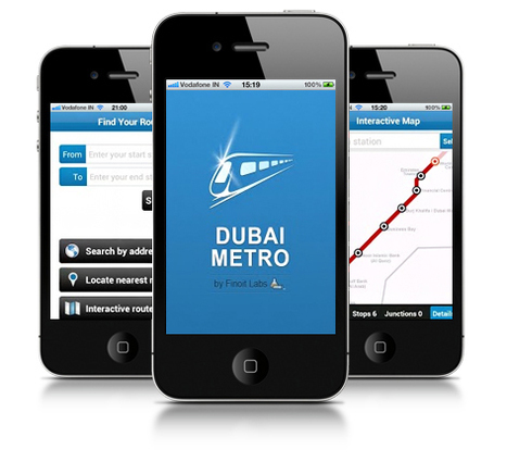 Dubai Metro App-Simplifying your tryst with Dubai | Finoit Technologies | Mobile Application Development Company India | Scoop.it
