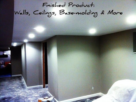 Basement Finishing: Great Idea & Good Investment | All Roofing ... | What I Want It To be | Scoop.it