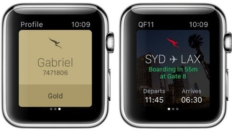 Qantas suffers Apple Watch fail: it doesn't fit in the airline's scanners | Effective UX Design | Scoop.it