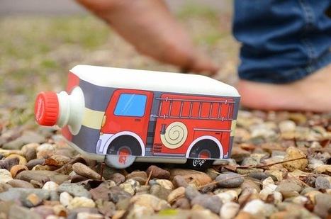 Embalagem inteligente transforma desperdício em brinquedos educativos | Criatividade, inovação, marketing | Scoop.it