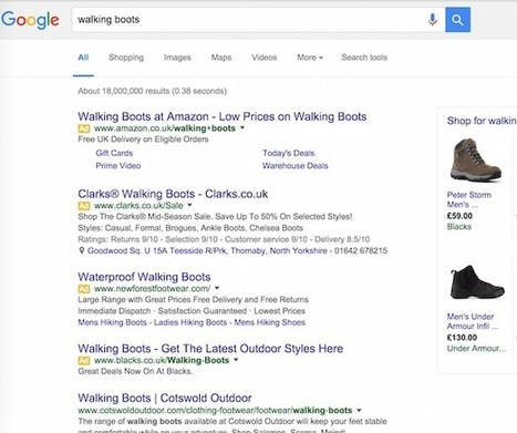 50% des adultes ne voient pas les pubs AdWords dans Google | Marketing in a digital world and social media (French & English) | Scoop.it